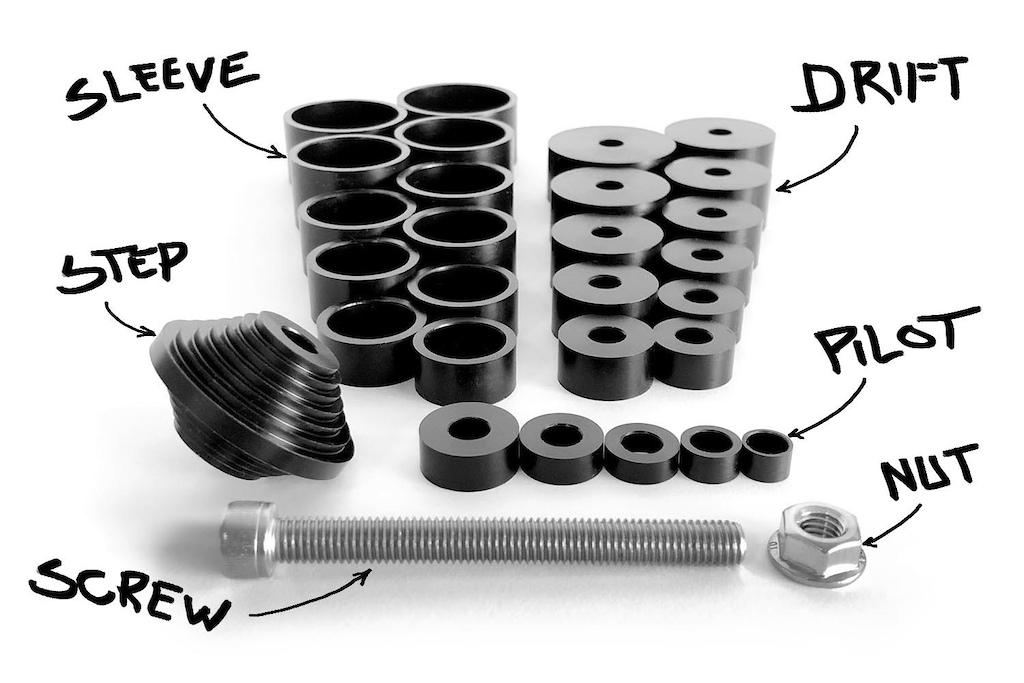 Alt Alt Suspension Bearing Press Parts