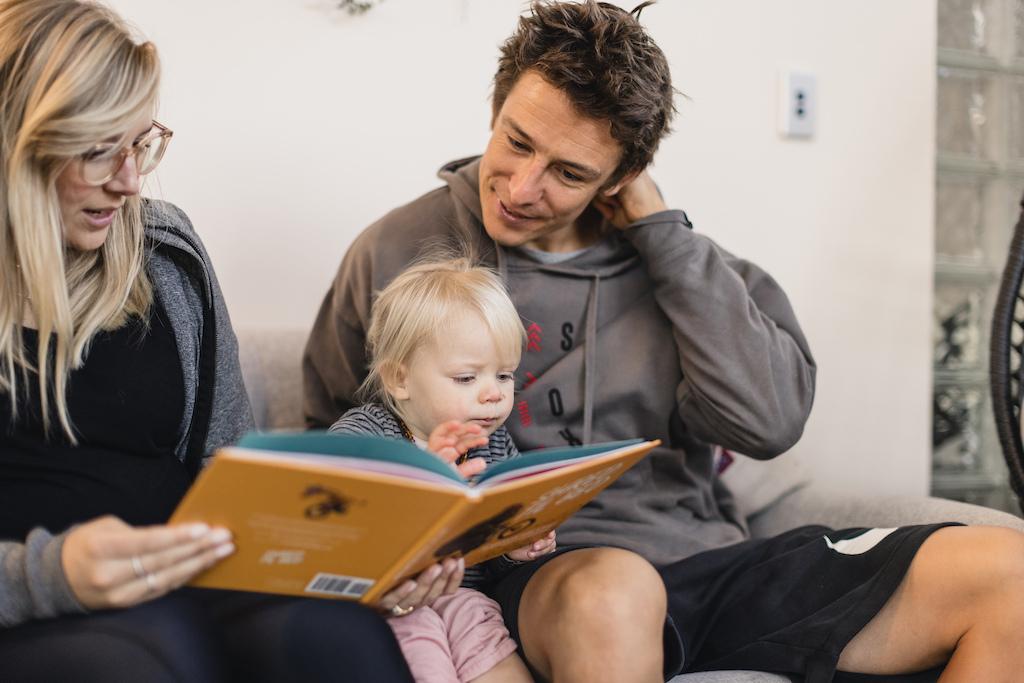 Sam Lysh Indie reading bedtime stories