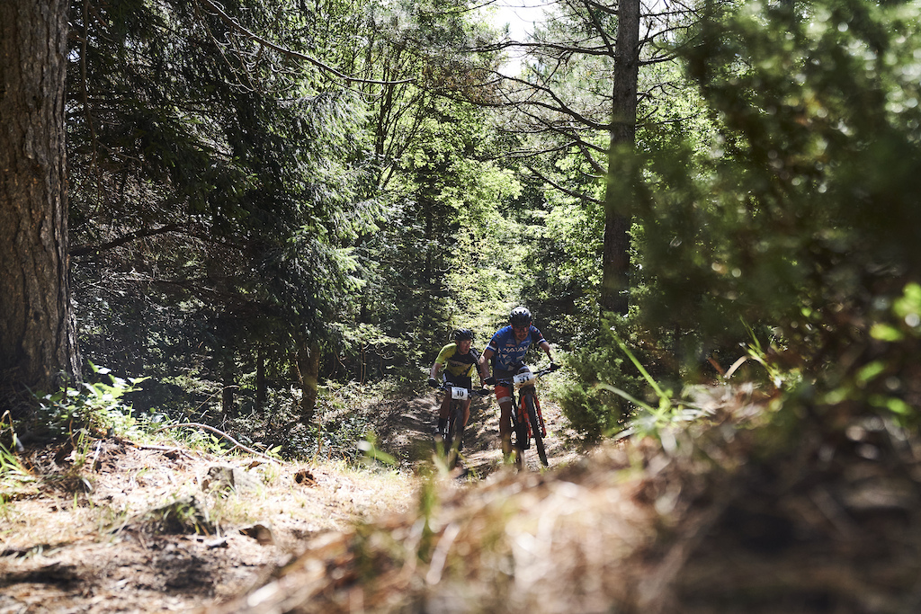 during Stage 6 of the 2021 Appenninica MTB from Cerreto to Castelnovo ne Monti Emilia Romagna Italy on 17 September 2021. Photo by Francesco Narcisi. PLEASE ENSURE THE APPROPRIATE CREDIT IS GIVEN TO THE PHOTOGRAPHER.