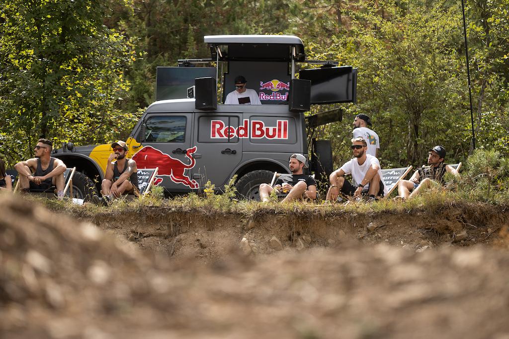 The Redbull Ernest DJ s Truck