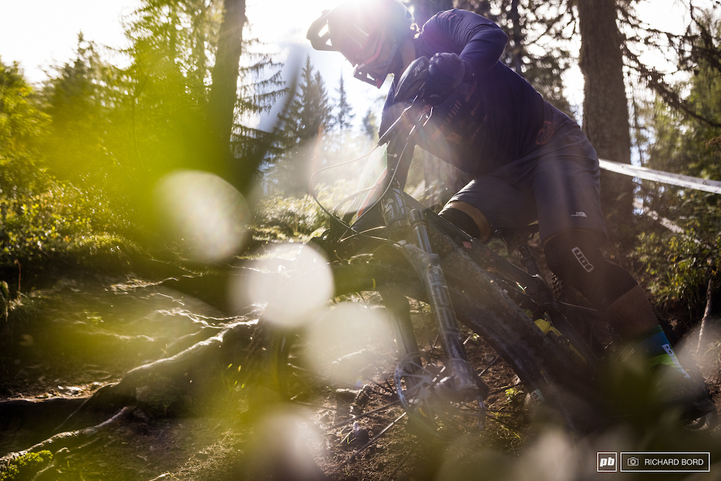 Sorry just the photographer here playing with light in the beautiful forest of Stage 1.