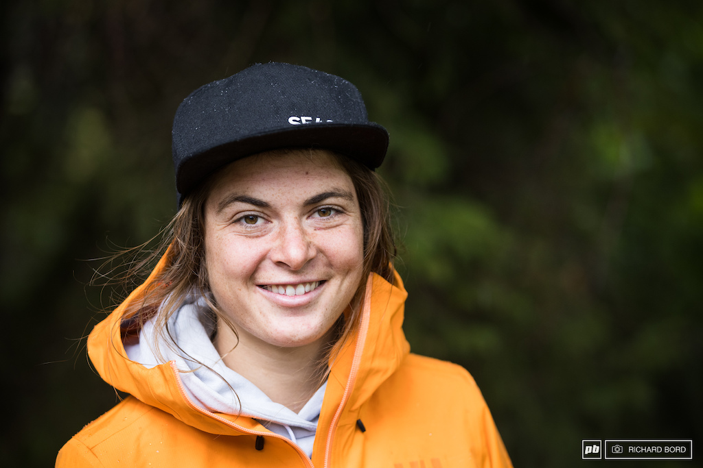 Being a ski athlete on the Freeride World Tour being 2nd at the Crans-Montana EWS 100 and winning this week-end in Les Houches for her first participation. Juliette Willmann 24 years old has talents for sure She said she ll do more bike races next year. See you in 2022 then
