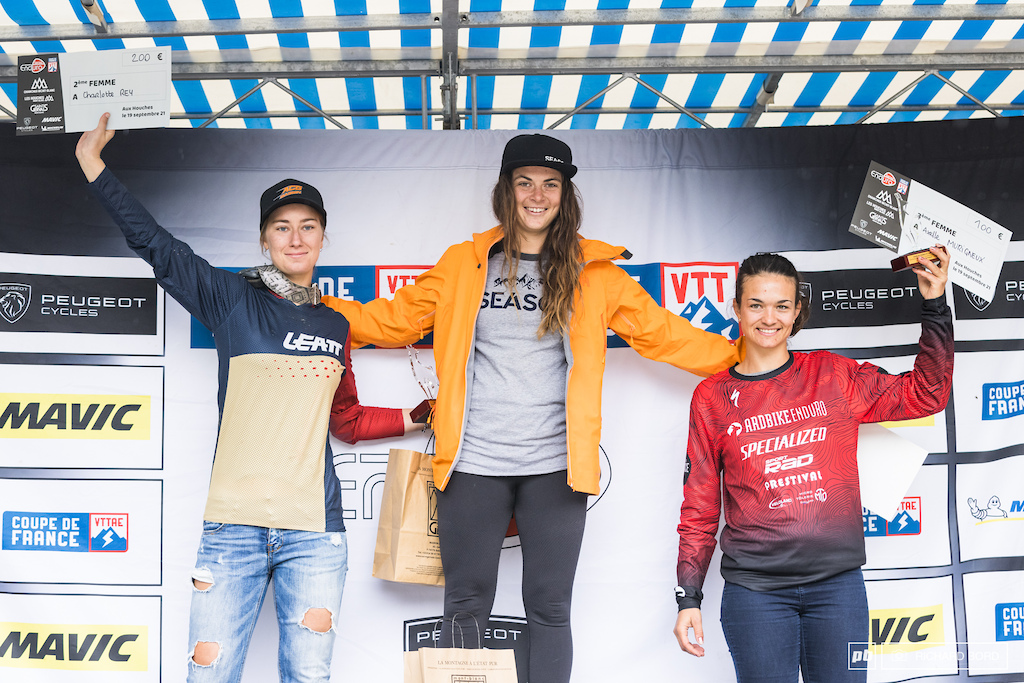 Women podium of the week-end.