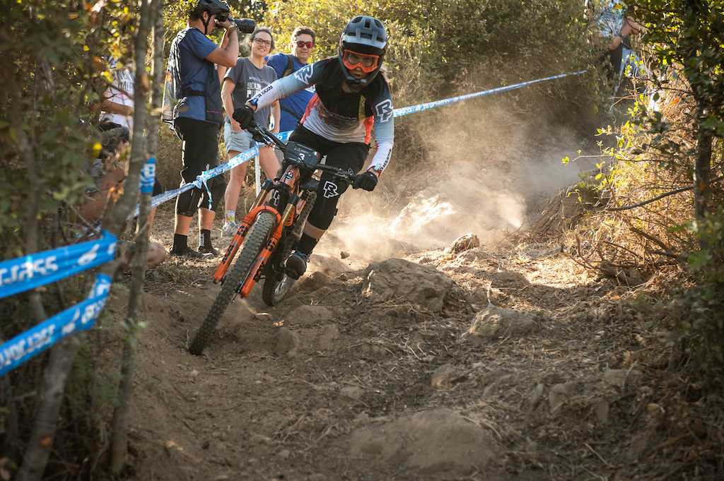 The Rocky Mountain Race Face Team in Finale Ligure for the 2021 EWS series.