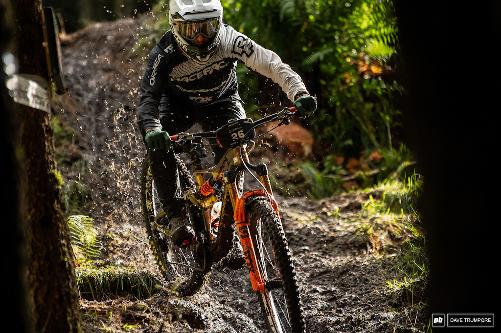 Damion Oton in his final EWS race of what has been an incredible career