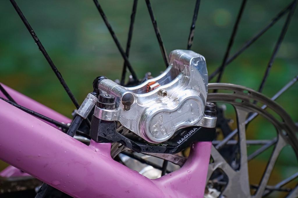 The final brake caliper prototype