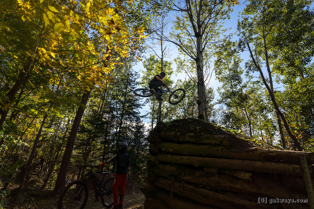 Air DH Whip-Off and Best Trick durant le Marmota Fest 2021. Quebec City Mountain Biking.