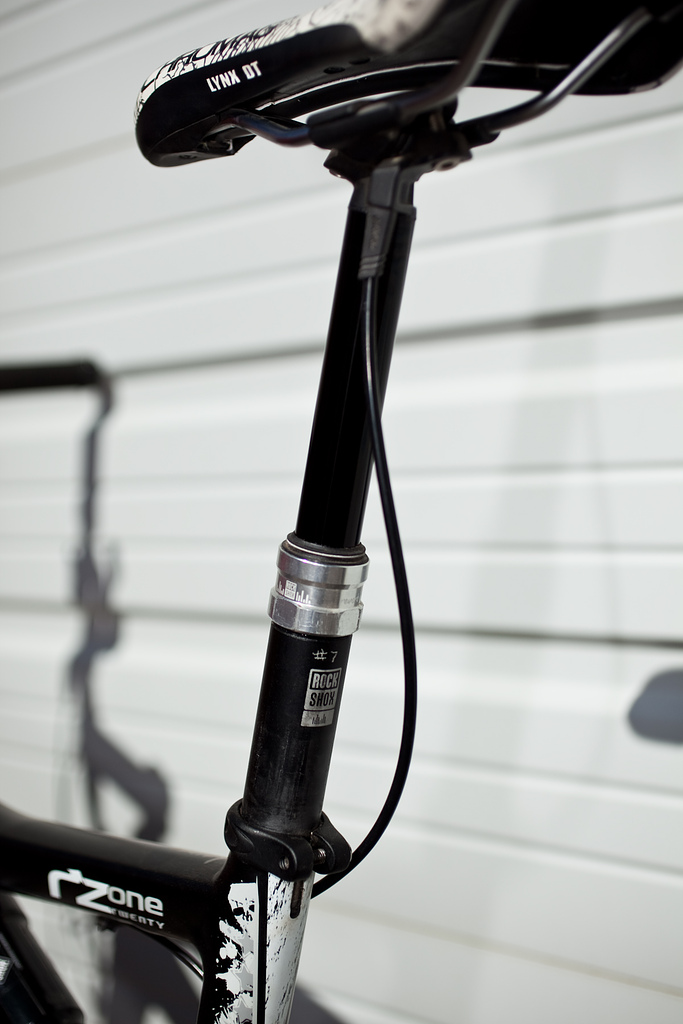 The first RockShox Reverb debuted in 2010.