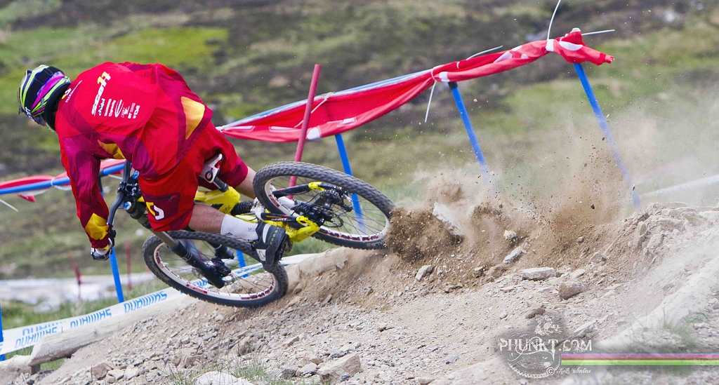 Fabien Pedemenaud at Fort William WC 2010