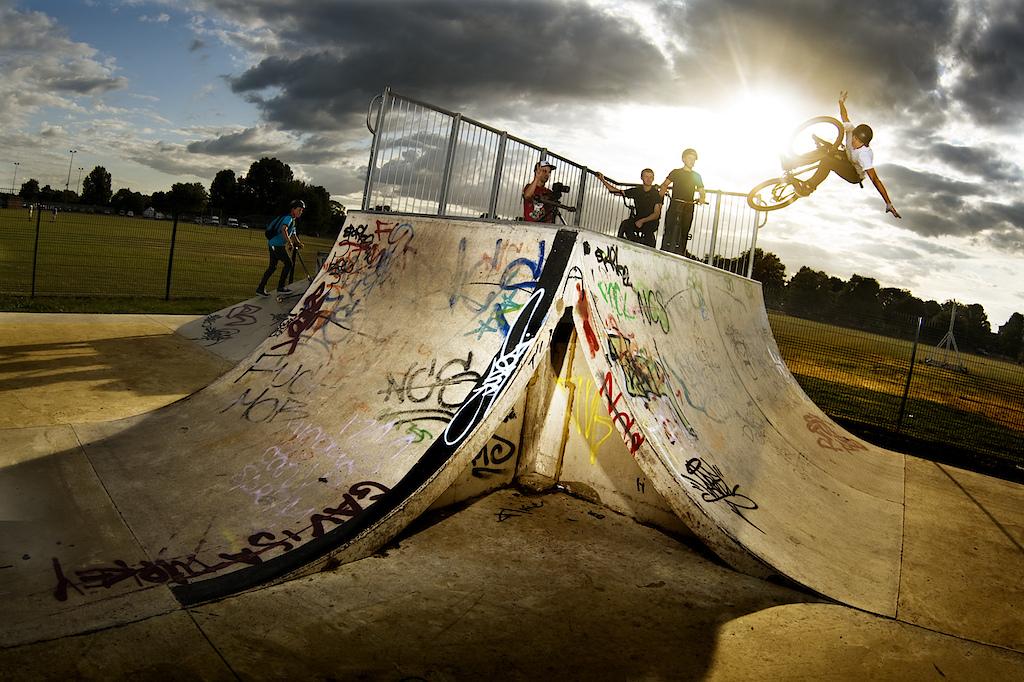 Skatepark POD, trip to UK, 2010