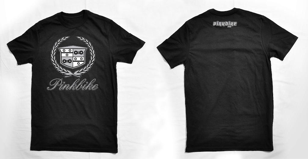 Pinkbike Cadillac logo shirt mockup
