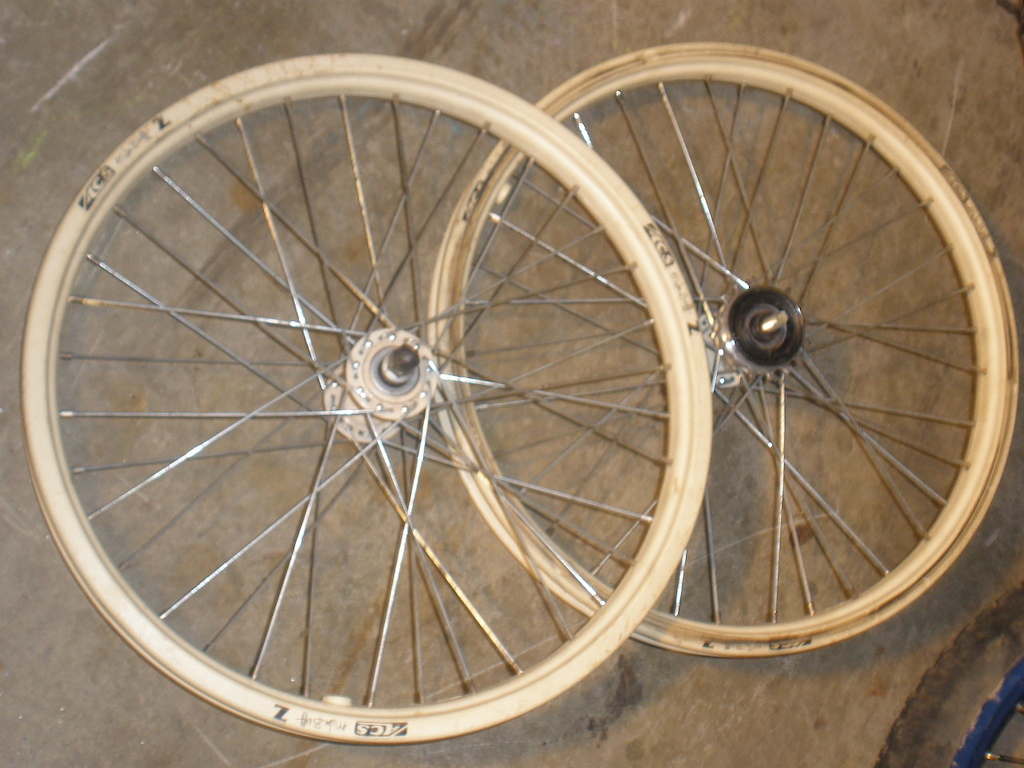 "20"" ACS Mike buff Z wheelset"