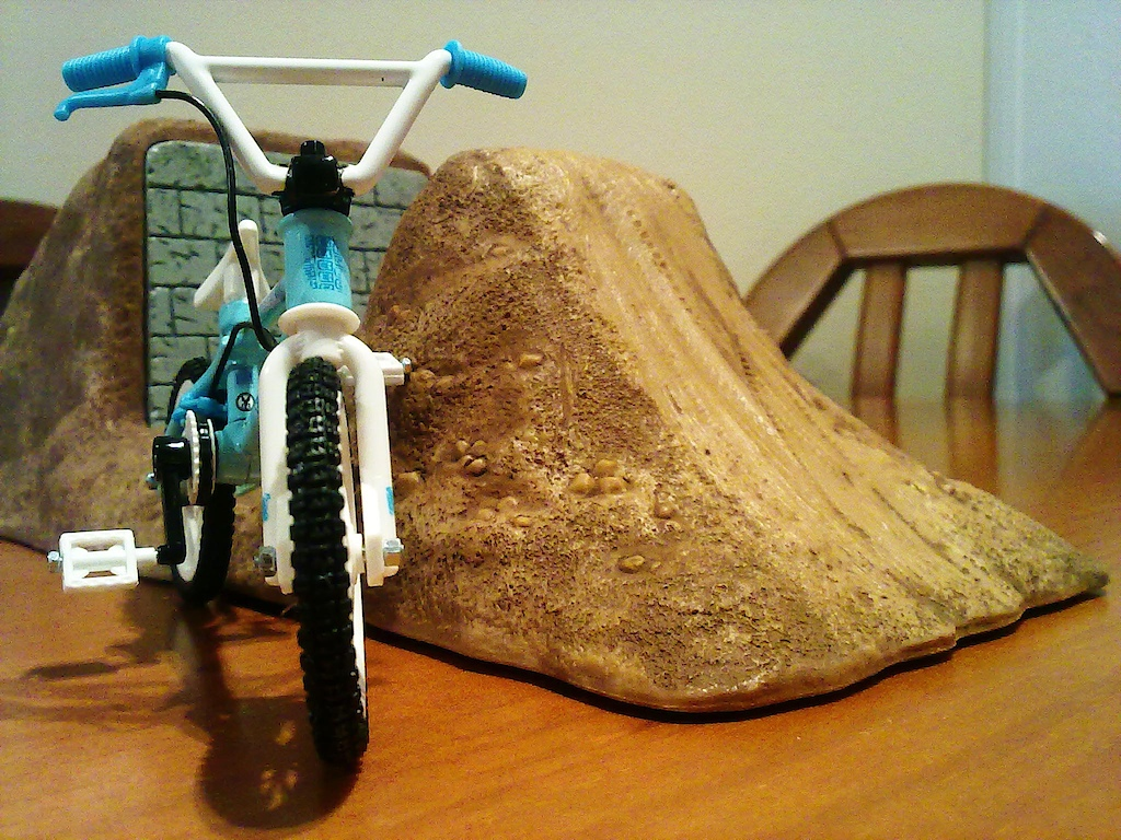 My fingerbmx and new set-up.