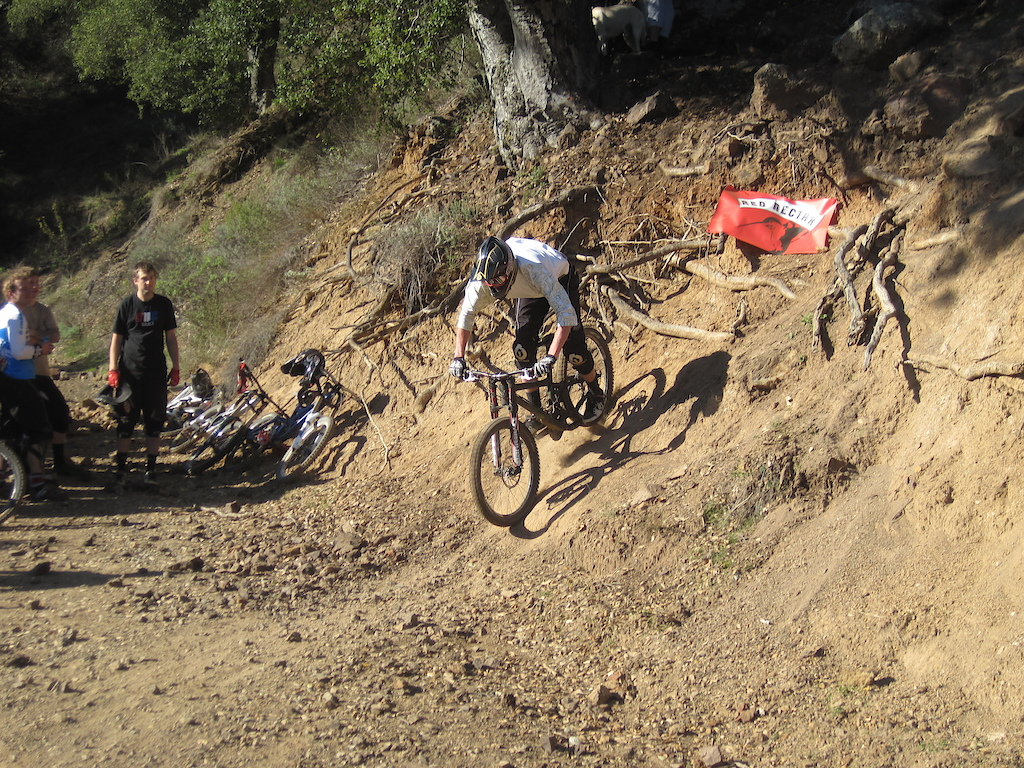 Some Racing Today On A Super Bad Ass Trail