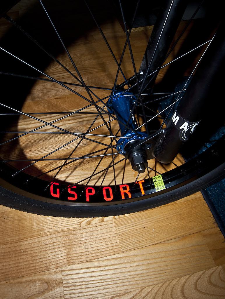 Proper microlite v2 G-sport rollcage united spokes