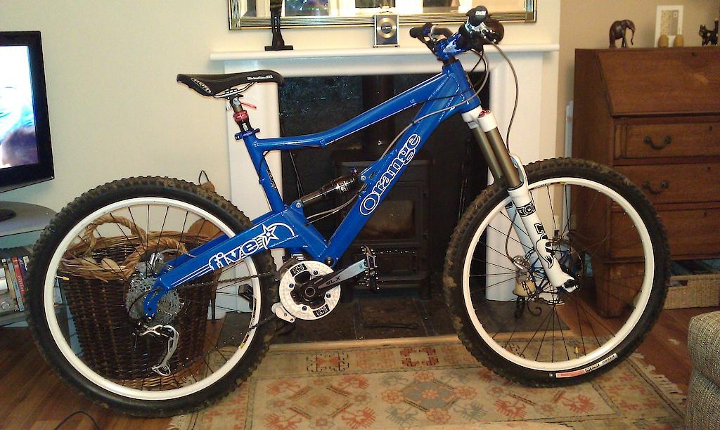 My new 2011 Orange 5