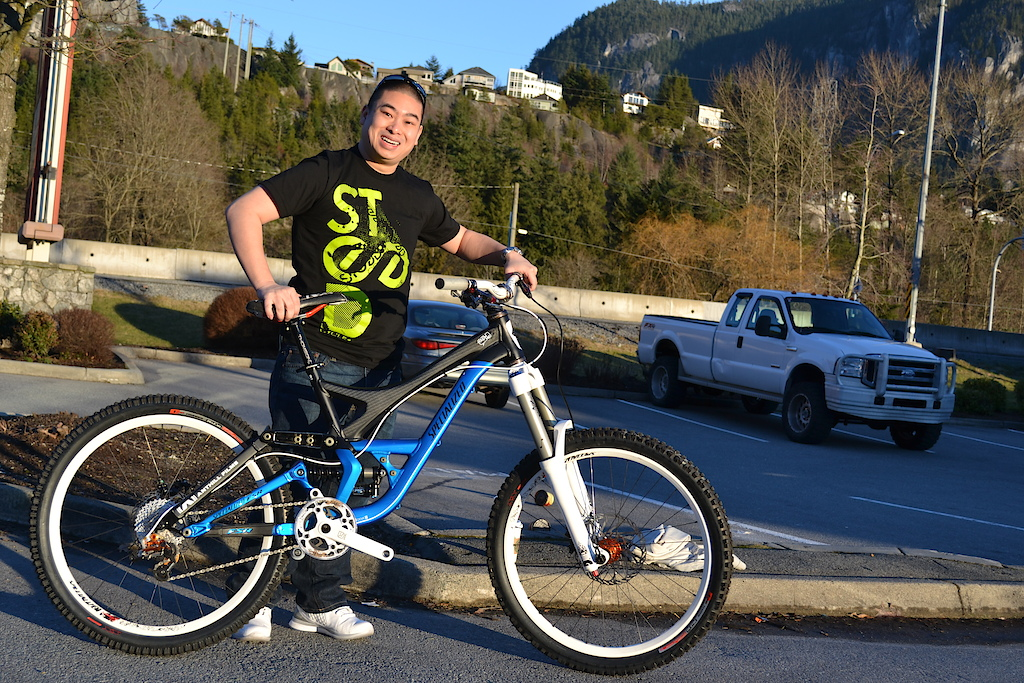 Jeff with his new ride