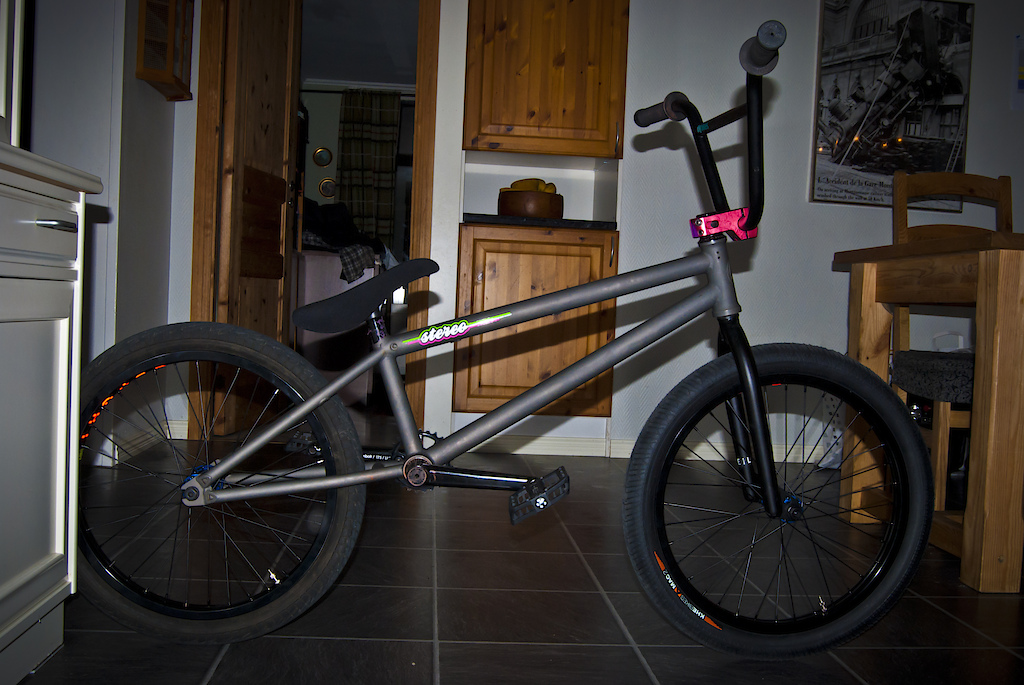 New bike for 2011. custom stereo mono!