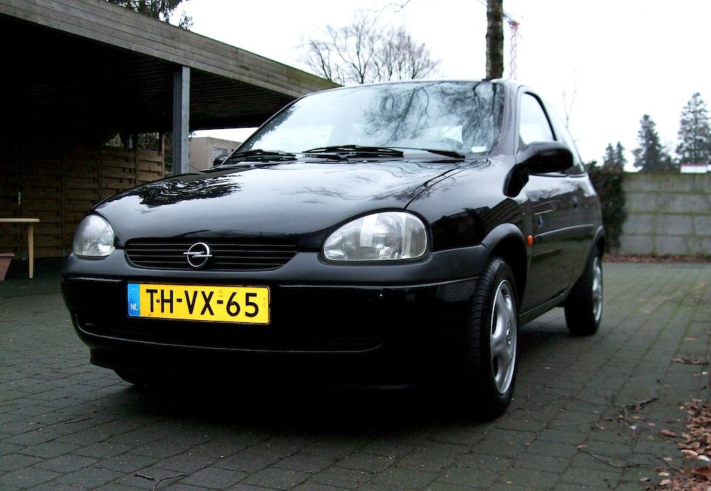 My first car: Opel Corsa B 1.4i...