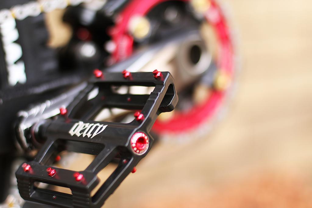 Deity LT pedals