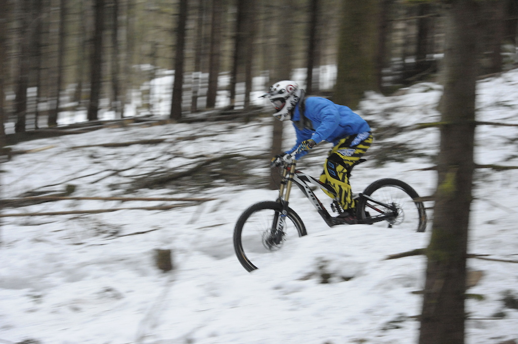 Some winter riding at home.