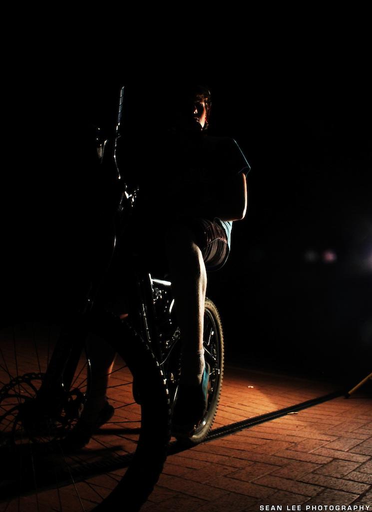 Night photo shoot