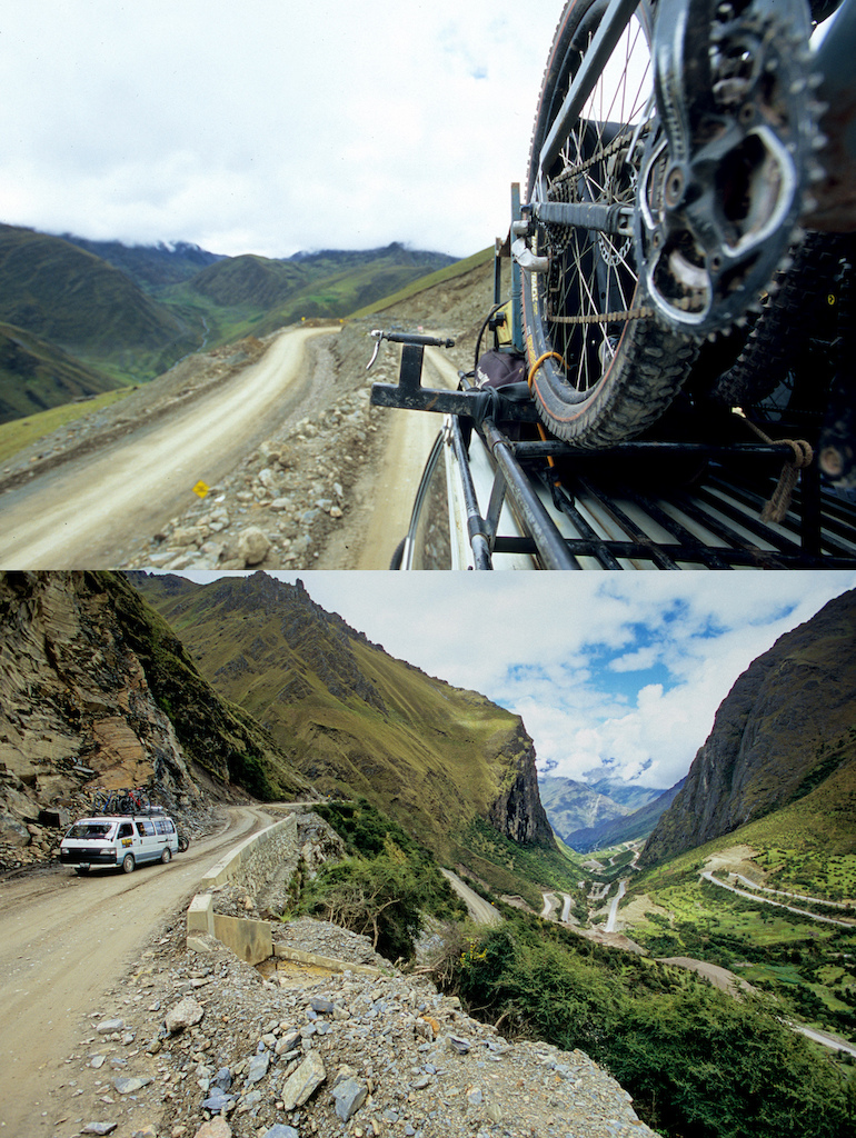 How they built these roads I do not know? We spent a lot of time traveling by KB's van to near by towns and new trails. While sitting in the back sipping large road-pops you had to be careful. Any pothole or obstacle could cause a sudden bump and your teeth were at risk of being taken out. <br><br>Driving in Peru is an experience in itself. A few days after these shots were taken we were driving on a road, an