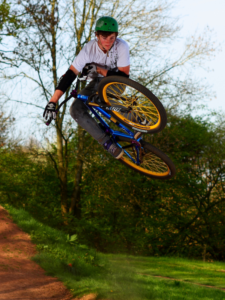 Alfie Stephens - dirt jump Dartmoor UK team member and his Cody. http://www.slam69.co.uk/. http://dartmoor-bikes.com.