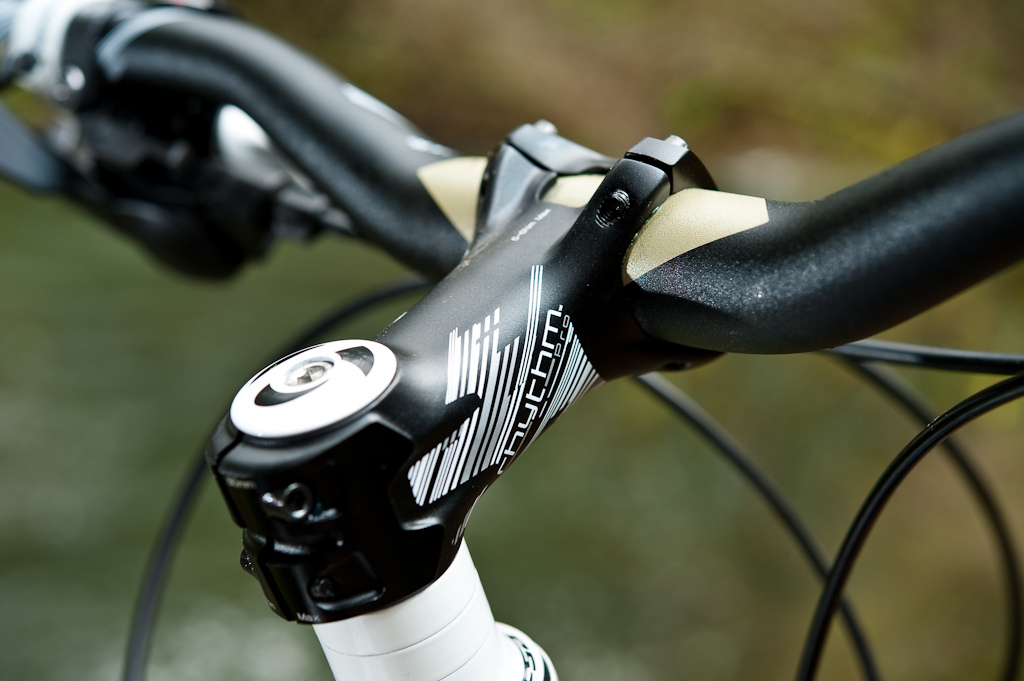 First things first- while Bontrager Rhythm Pro components appear to be up to the task, I felt the 80mm stem and 28