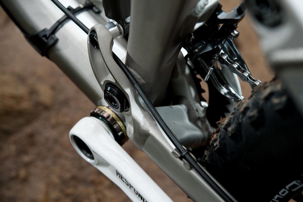 Trek Scratch Air main pivot area/ asymetrical chainstay