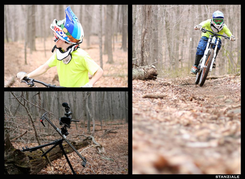 shot a bike check of Mike's Devinci. Video soon!