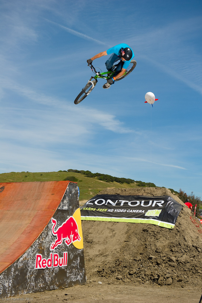 Ryan Howard at the 2011 Sea Otter Jump Jam and Best Whip contest