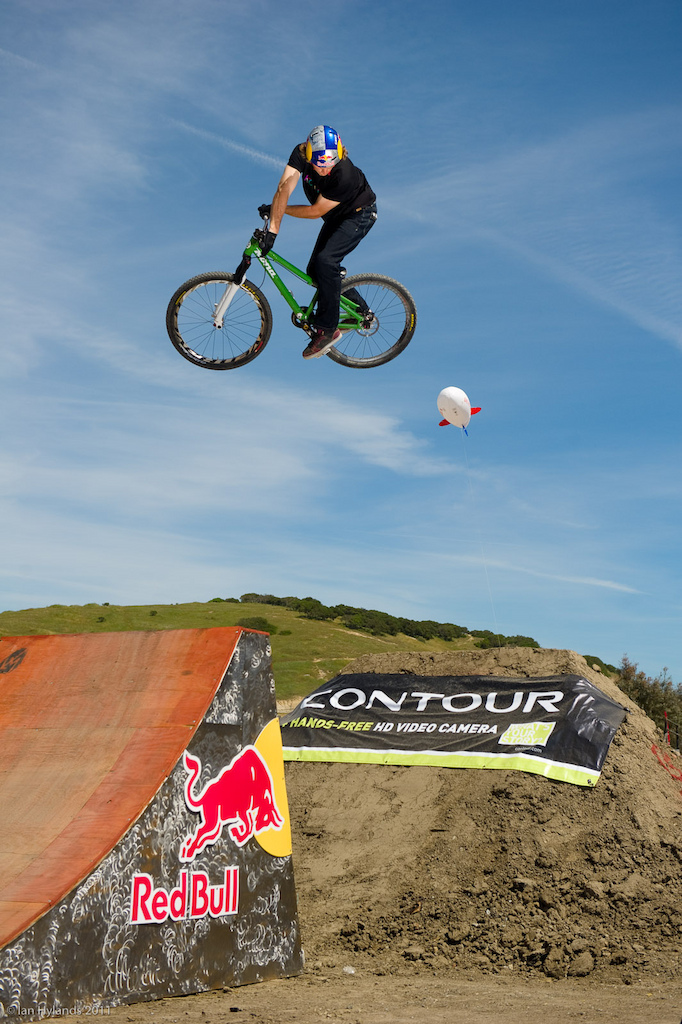 Paul Basagoitia at the 2011 Sea Otter Jump Jam and Best Whip contest