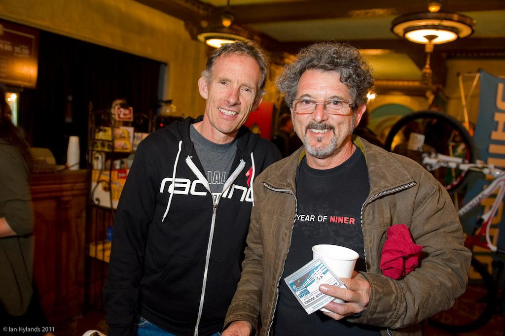Pedal Driven world premier at Sea Otter