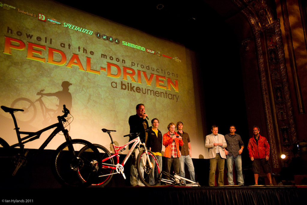 Pedal Driven world premier at Sea Otter