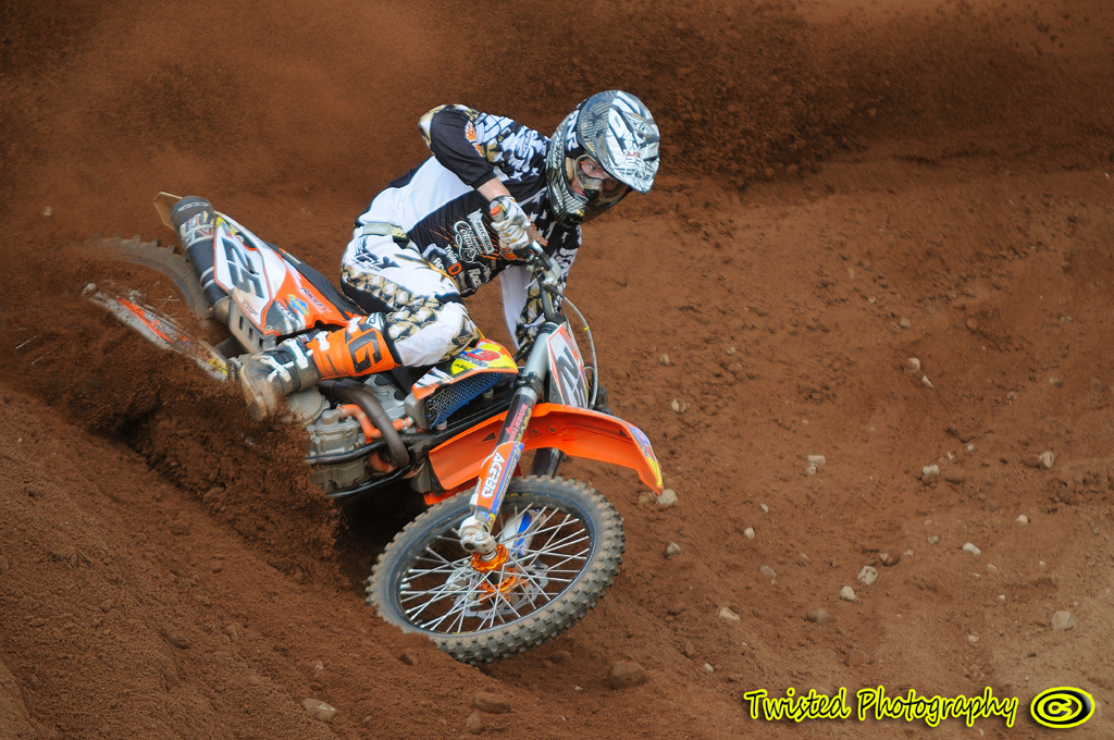 Jamie Law and his D3 Racing ktm .