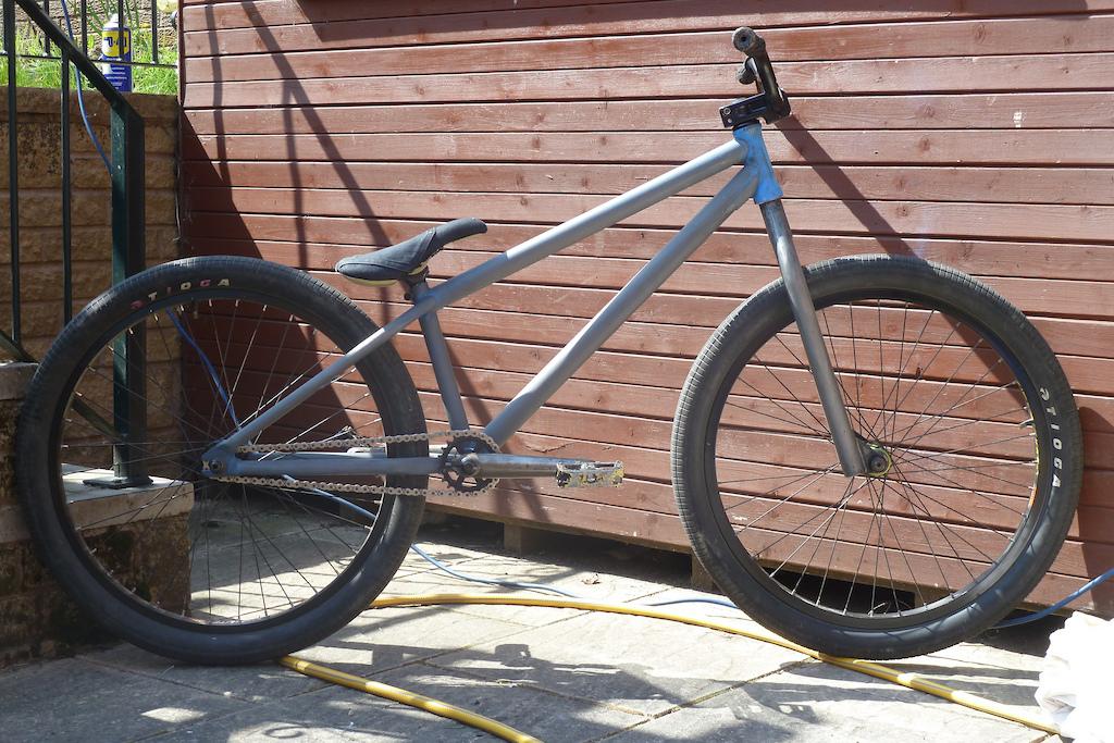my bike is a dinosaur.... roooaaaarrrr!!!!! (raw)