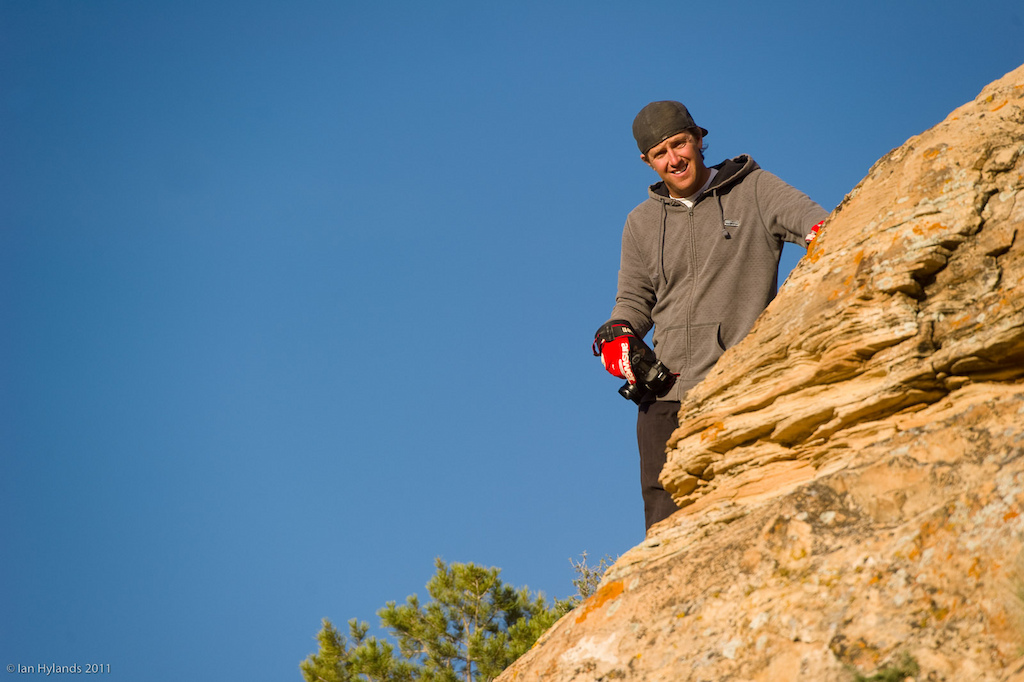 Photographer Justin Olsen, look for his photos from the trip in upcoming Diamondback catalog and advertising materials.