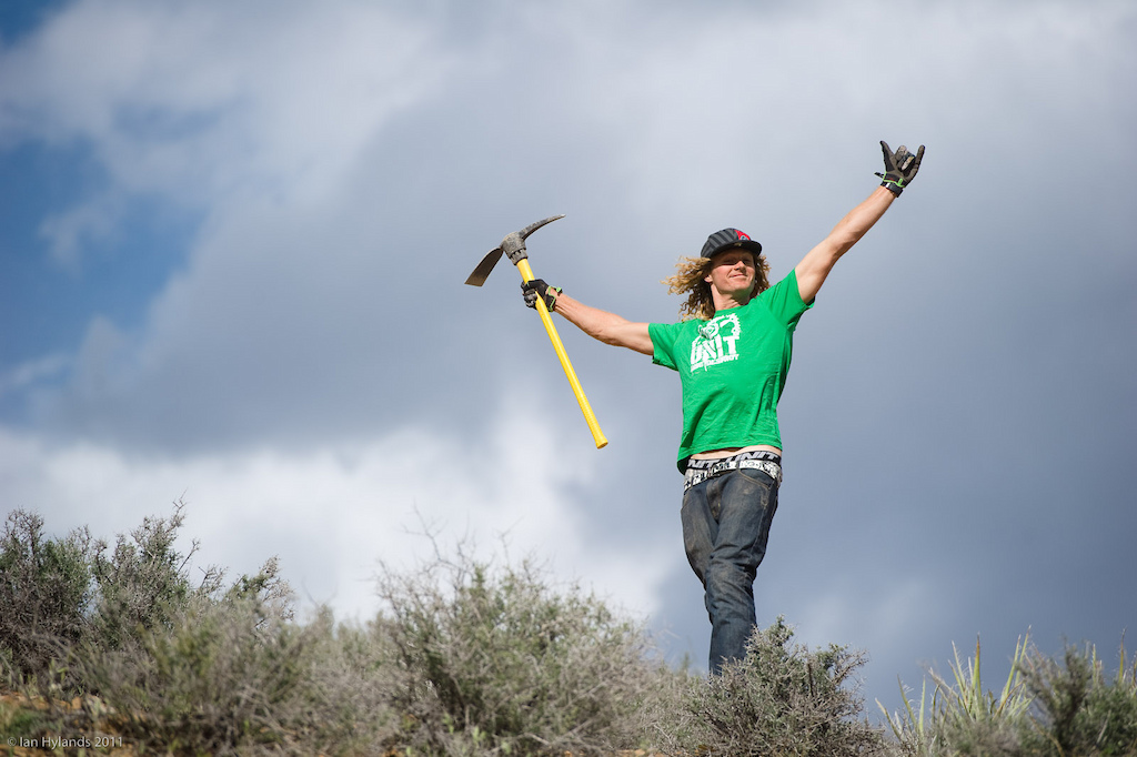 Kelly McGarry, just simply stoked to be in Utah!