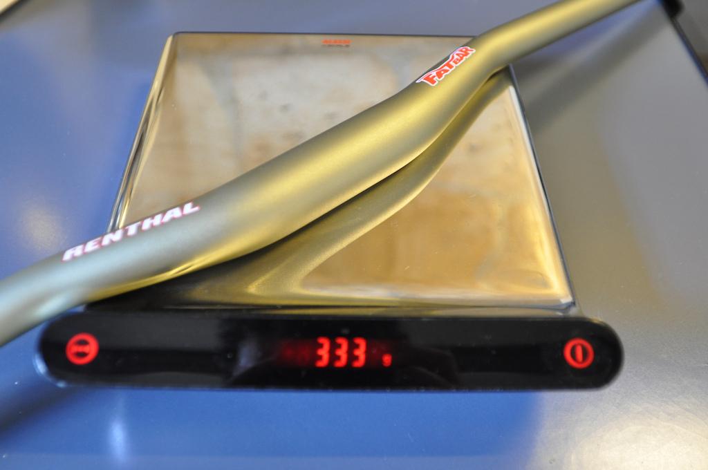 Renthal Fatbar 750mm 20mm rise