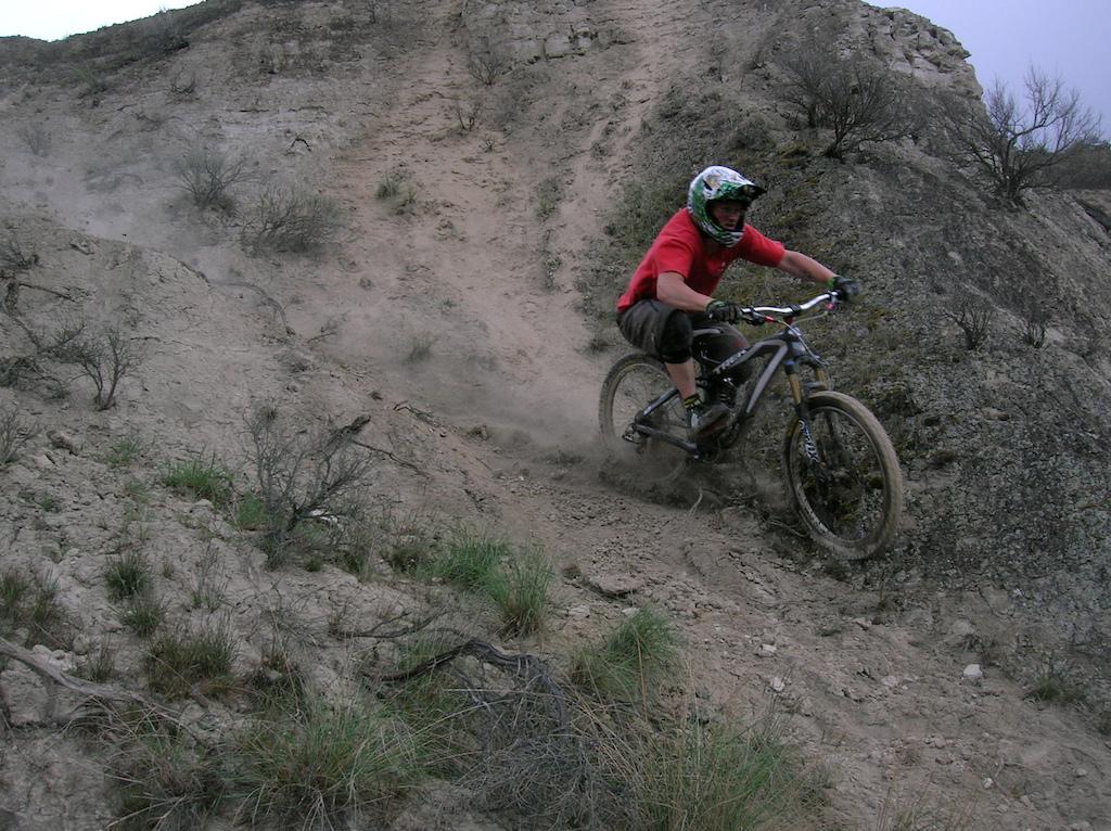 steep chutes to sketchy.