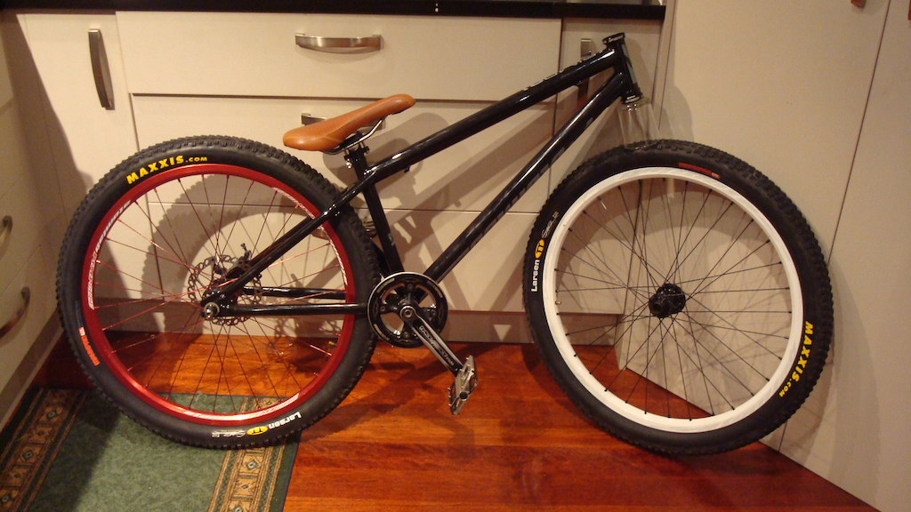 new pimp 2 build, waiting on forks, then int rideable!
