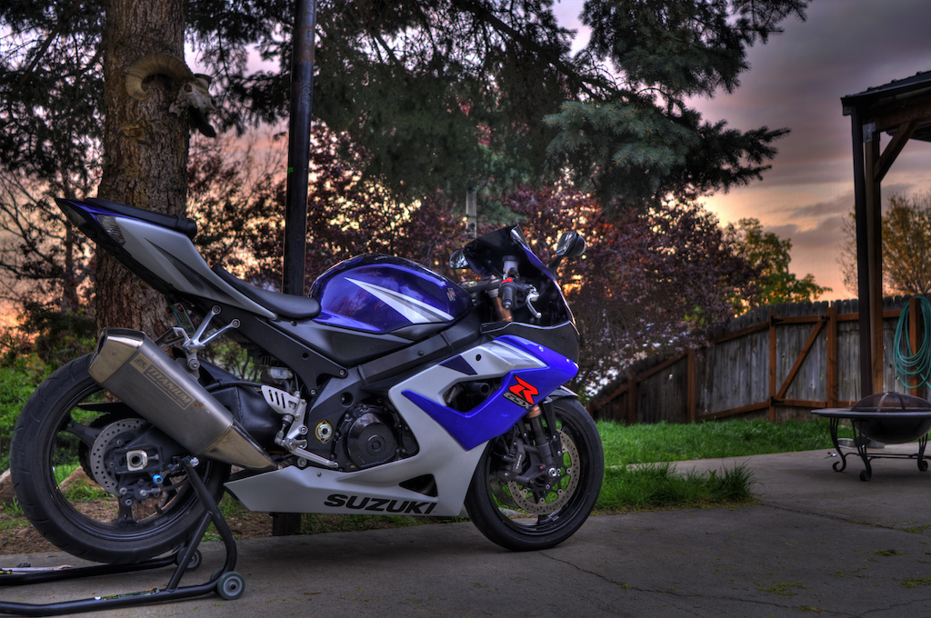 HDR image of one of the bikes...