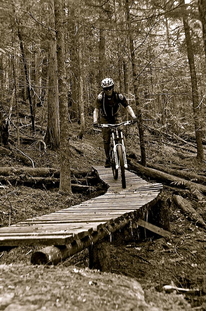 Ridin' da bicycle