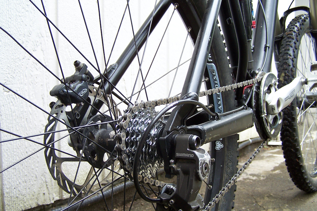 New 7 Point, Shimano Saint derailleur m800.