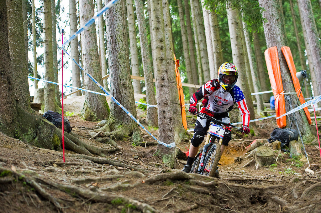 Flawless. And fast. It will be interesting to see how much faster Aaron Gwin can go in the final.