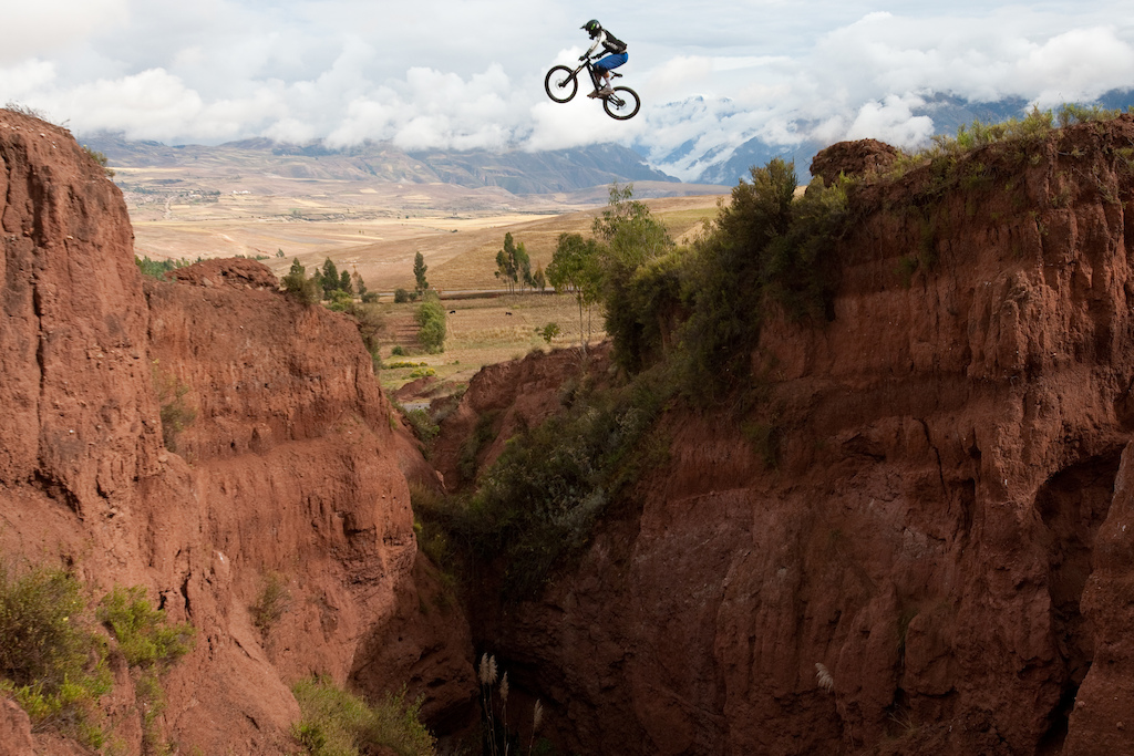 No photoshop, watch http://www.pinkbike.com/video/144112 Pic by Marco Toniolo