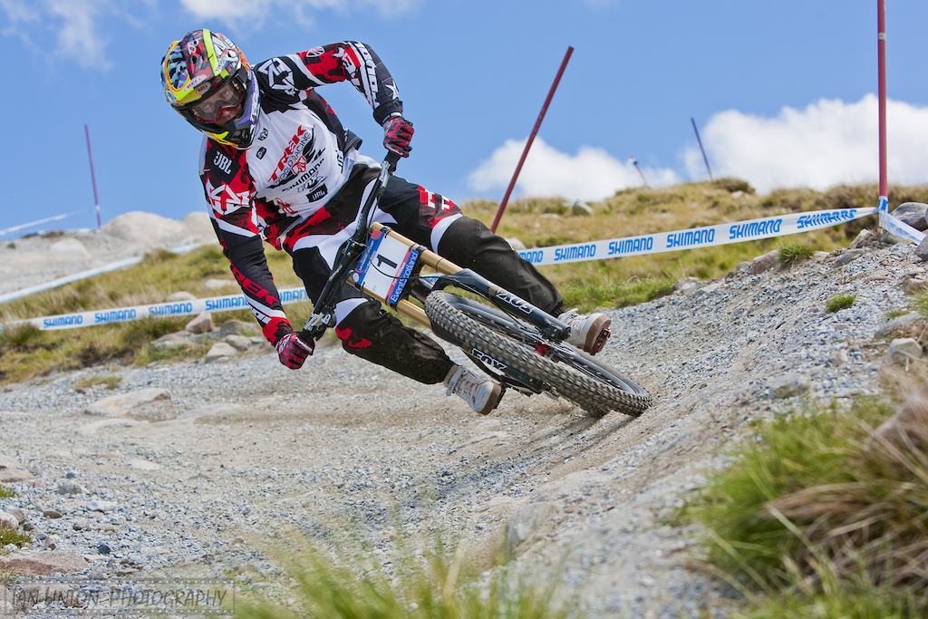 Aaron Gwin s on fire this season