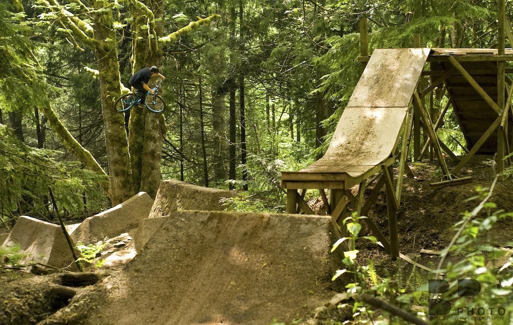Anthony Cruising through the trees