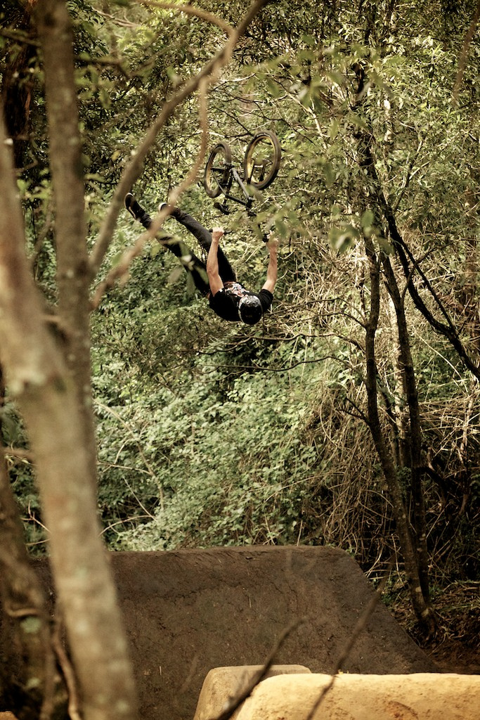 Unit BMX rider Josh Stead.... Backflip double can, yea no worries haha.